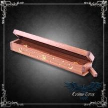 Porte-encens boîte en bois ouvragée Astres - boutique esoterique en ligne