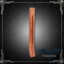 Porte-encens en bois de Sheesham - symbole Om - boutique esoterique en ligne