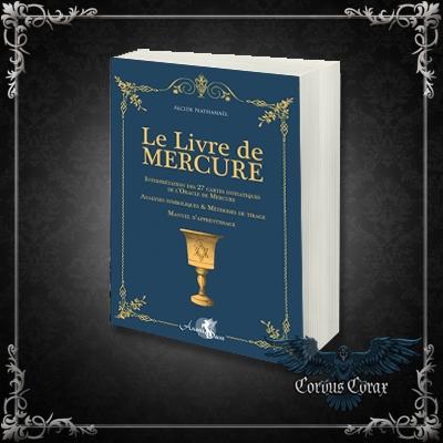 Le livre de Mercure - Boutique ésotérique Corvus Corax