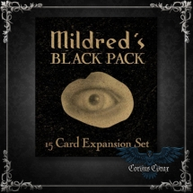 Black Pack : Mildred Payne's Secret Pocket Oracle de Patrick Valenza - boutique esoterique en ligne