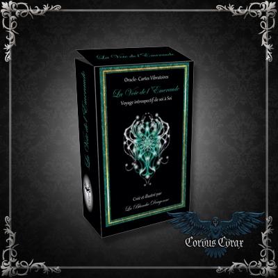 L'Oracle de la Voie de L'Emeraude - Boutique ésotérique Corvus Corax