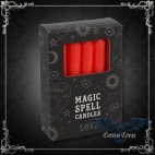 Bougie Magic Spell Candles Rouge - pack de 12