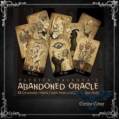 Abondoned Oracle de Patrick Valenza - Boutique ésotérique Corvus Corax
