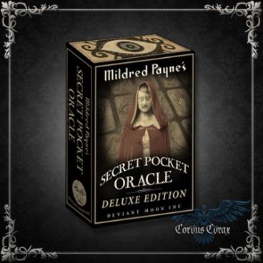 Deluxe Edition - Mildred Payne's Secret Pocket Oracle de Patrick Valenza (Anglais ) - Boutique ésotérique en ligne