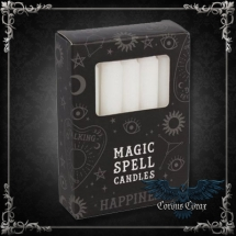 Bougie Magic Spell Candle - Joie - Blanche - pack de 12