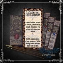 Encens artisanal Amérindien LABDANUM - Wise Owl  - boutique esoterique en ligne