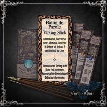 Encens artisanal Amérindien BATON DE PAROLE - Wise Owl  - boutique esoterique en ligne