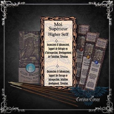 Encens artisanal Alliés MOI SUPERIEUR - Wise Owl  - Boutique ésotérique Corvus Corax
