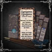 Encens artisanal Alliés EGREGORES - Wise Owl  - boutique esoterique en ligne