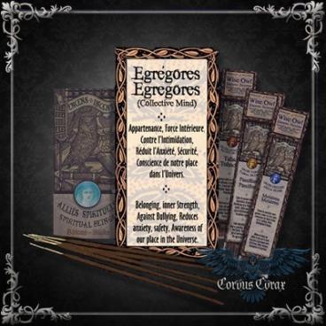 Encens artisanal Alliés EGREGORES - Wise Owl  - Boutique ésotérique en ligne