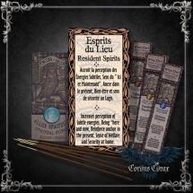 Encens artisanal Alliés ESPRITS DU LIEU - Wise Owl  - boutique esoterique en ligne