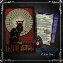 Oracle Psychique Chat Noir  « Produit-Maison » - boutique esoterique en ligne